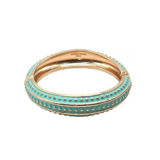 Bracelet Amok Pois - Turquoise