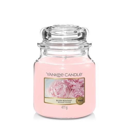 Bougie Yankee Candle - Bouquet Poudré