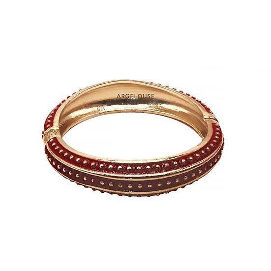Bracelet Amok Pois - Rouge