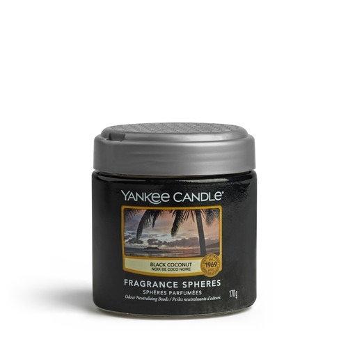 Yankee Candle, Sphères Parfumées - Noix de Coco Noire