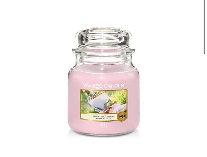 Bougie Yankee Candle - Rêverie au soleil