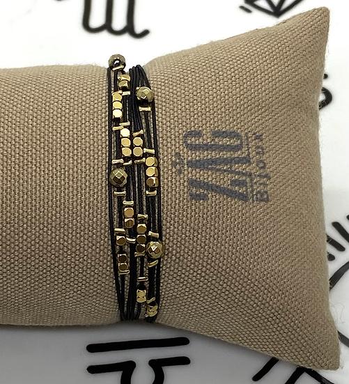 Bracelet double tour- ZAG Bijoux
