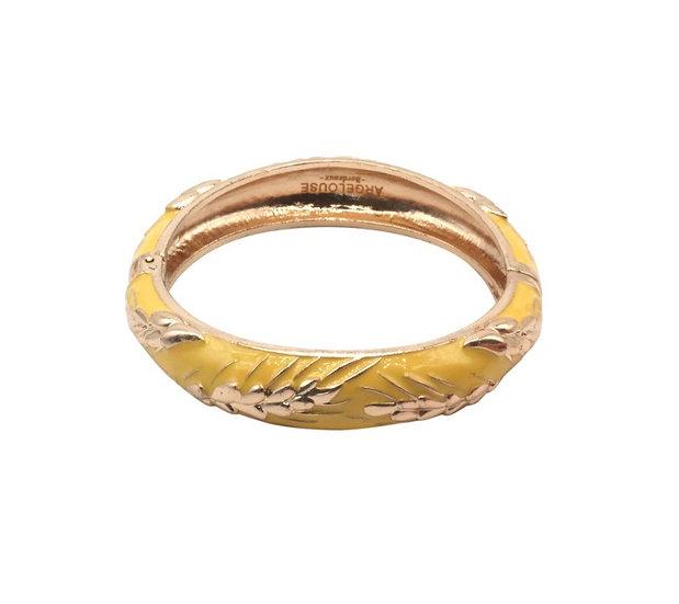 Bracelet Amok Épi de Blé - Jaune