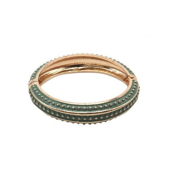 Bracelet Amok Pois - Kaki