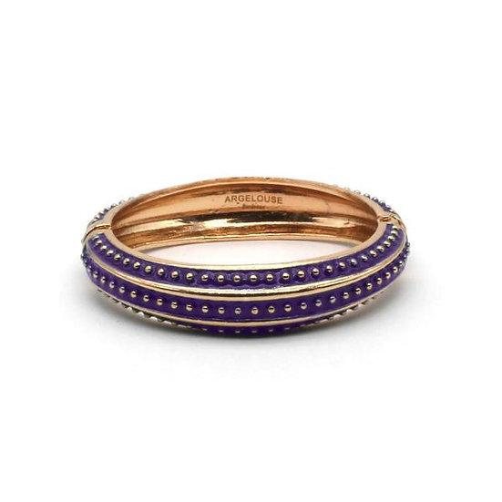Bracelet Amok Pois - Violet