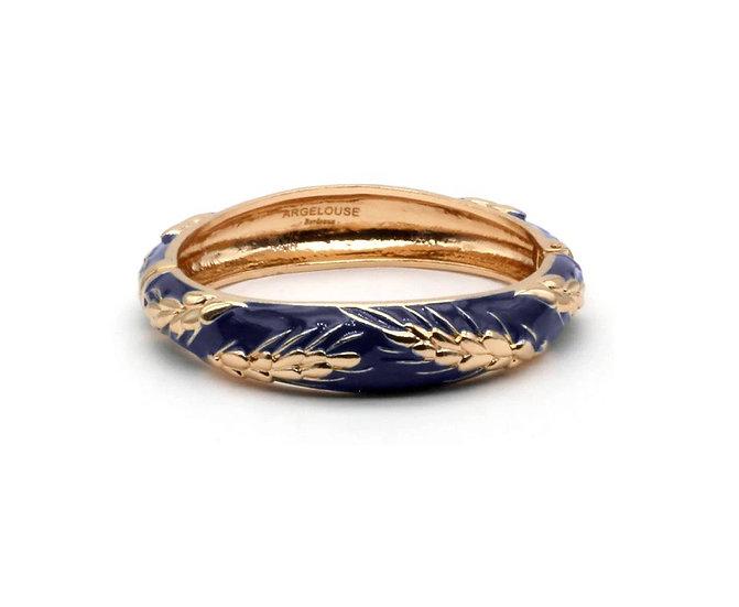 Bracelet Amok Épi de Blé - Bleu