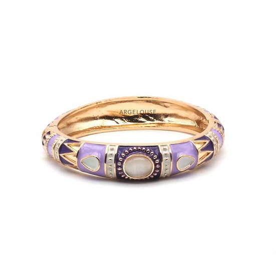 Bracelet Amok Ethnique - Lilas