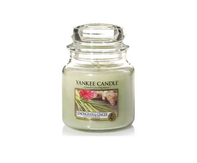 Bougie Yankee Candle - Citronnelle et Gingembre