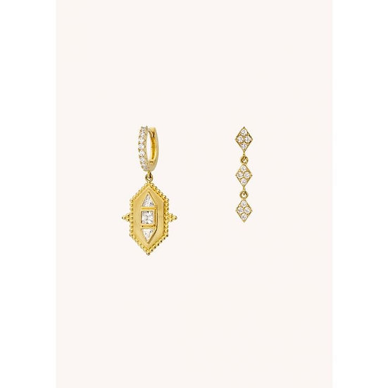 Boucles D'oreilles UPPER EAST SIDE - Mya Bay