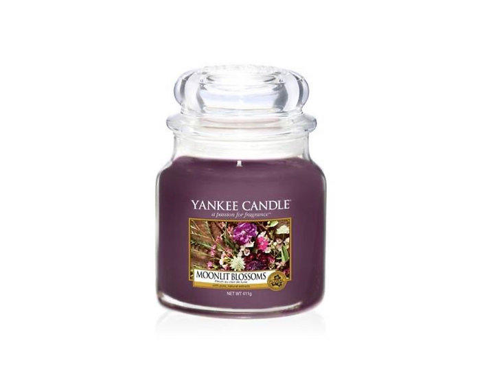 Bougie Yankee Candle - Fleurs au clair de Lune