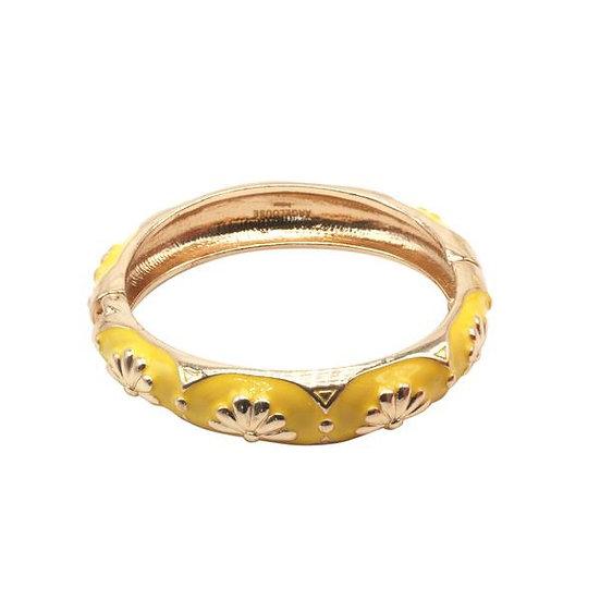 Bracelet Amok Eventail - Jaune
