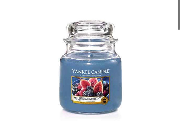 Bougie Yankee Candle - Figues et Mûres gourmandes