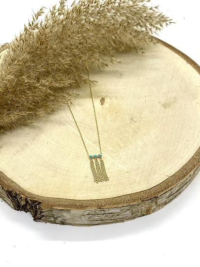 Collier, Turquoise - ZAG Bijoux