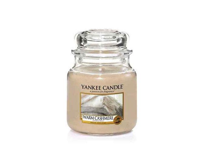 Bougie Yankee Candle - Cachemire délicat