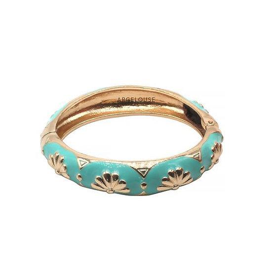 Bracelet Amok Eventail - Turquoise