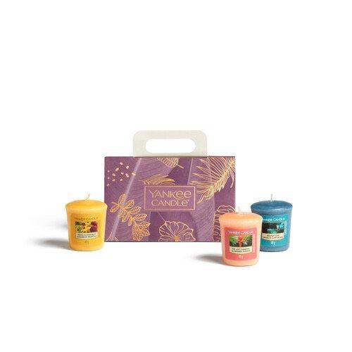 Yankee Candle - Coffret de bougies, 3 votives
