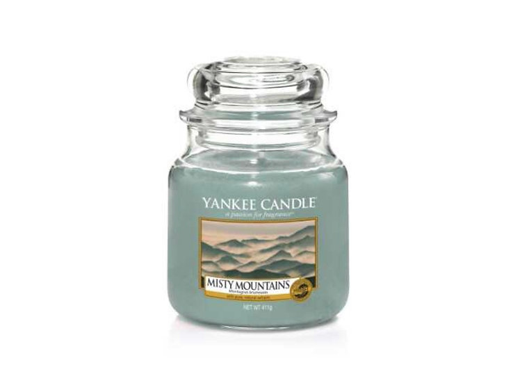 Bougie Yankee Candle - Montagnes Brumeuses