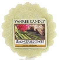 Tartelette Yankee Candle - Citronnelle et Gingembre