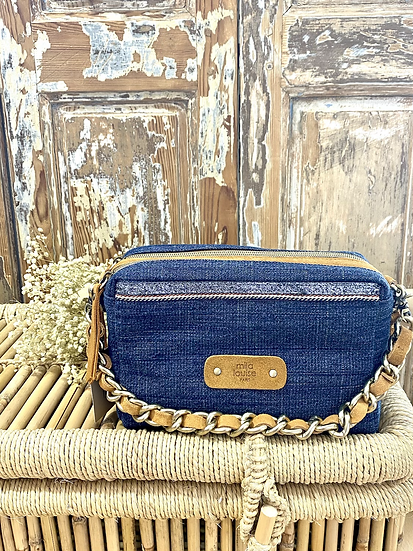 Mama DN Jeans, Bleu foncé - Mila Louise