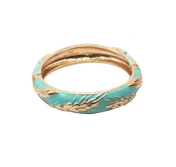 Bracelet Amok Épi de Blé - Turquoise