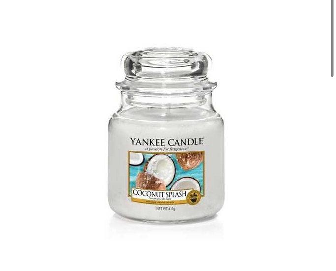 Bougie Yankee Candle - Eau de Noix de Coco