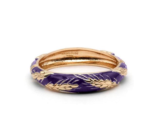 Bracelet Amok Épi de Blé - Violet