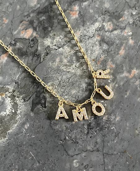 Collier à message Amour, AMULETTE