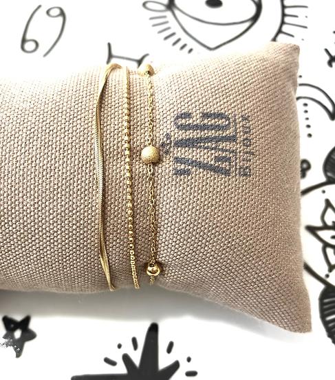 Bracelet 3 liens - ZAG Bijoux