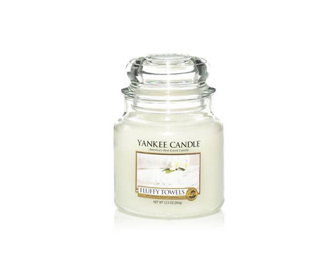 Bougie Yankee Candle - Serviettes Moelleuses