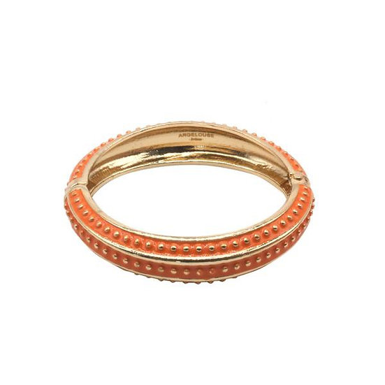 Bracelet Amok Pois - Orange