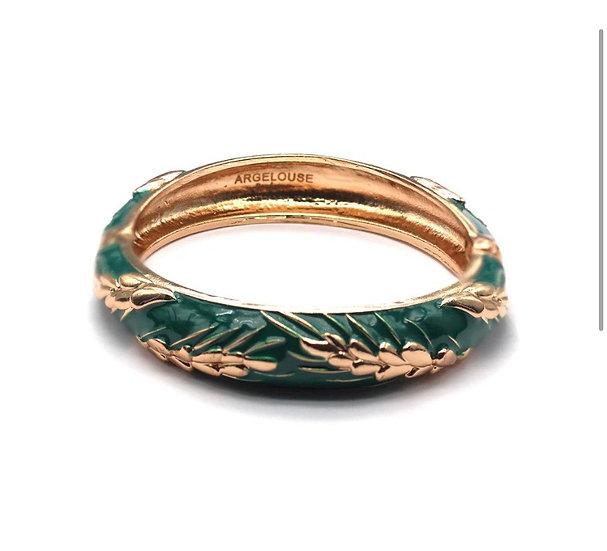Bracelet Amok Épi de Blé - Vert