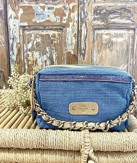 Mama DN Jeans, Bleu clair  - Mila Louise