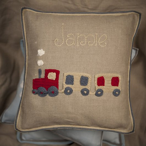 James Train Baby Cushion