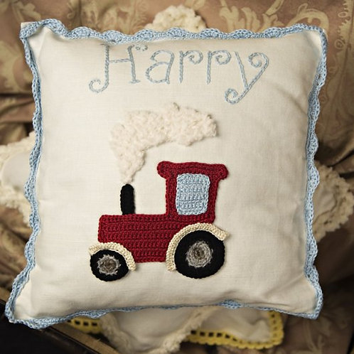 Harry Tractor Baby Cushion