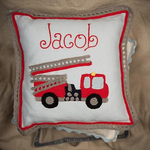 Fire Engine Cushion