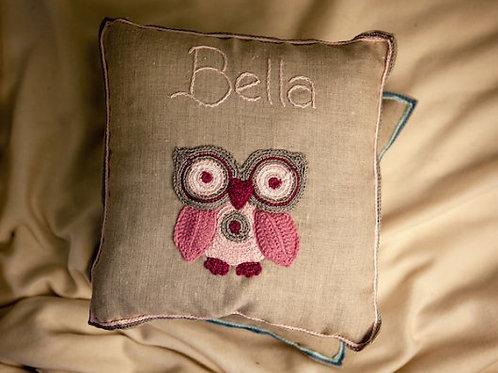 Princess Owl Baby Cushion
