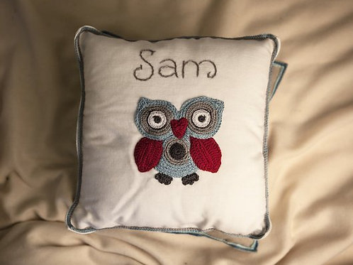 Snowy Owl Baby Cushion