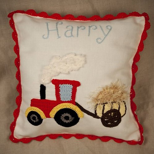 Farm Tractor Baby cushion