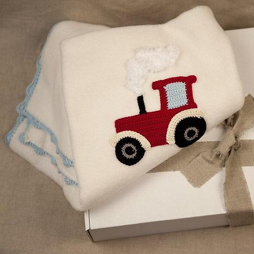 Harry Tractor Baby Blanket