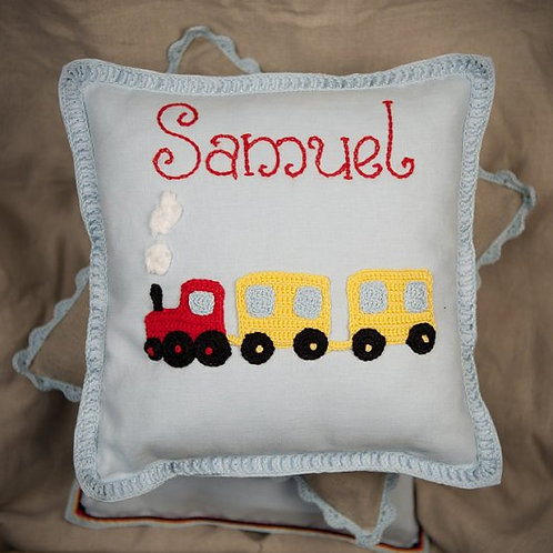 Samuel Train Baby Cushion