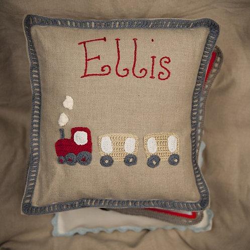 Ellis Train Baby Cushion