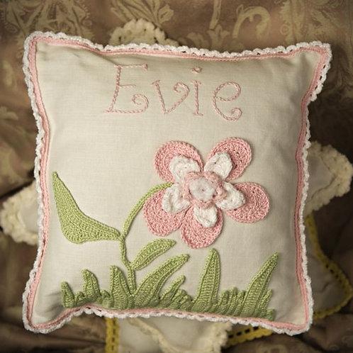 Flower  baby cushion