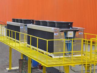 Gas Cooler para aplicação com CO2 Transcritico.