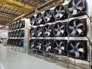 Túnel de Ultracongelamento
