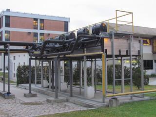 Geração de Energia com gás metano