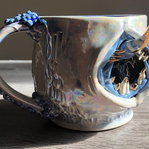 Unicorn creature Mug -blues