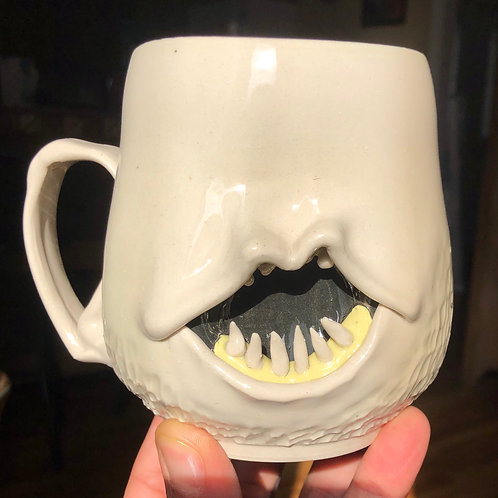 Large monster mug