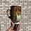 Thumbnail: Iron colored zinc crystalline mug