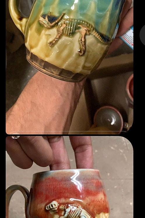 Dino mug set