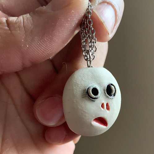 Shrunken head Pendant/ornament